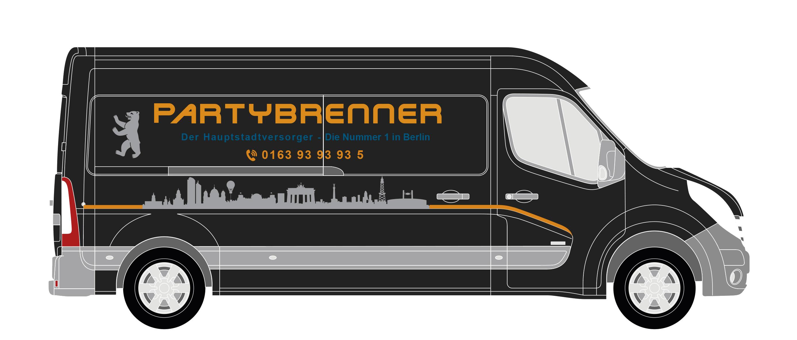 Partybrenner - Der Hauptstadtversorger-Logo