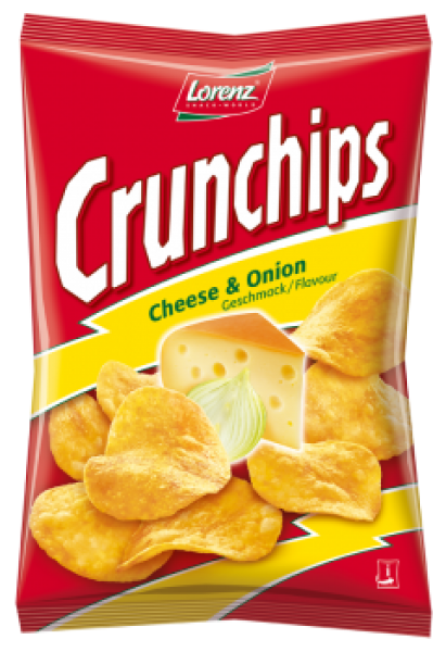 Lorenz Crunchips Cheese & Onions